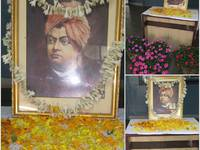 ELITTE FAMILY IS PAYING HOMAGE  &HUMBLE TRIBUTES to SWAMI VIVEKANANDA on HIS 158 th BIRTH ANNIVERSARY.